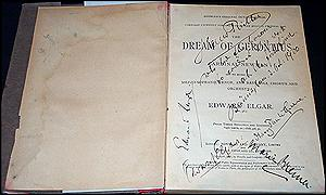 The Dream of Gerontius manuscript