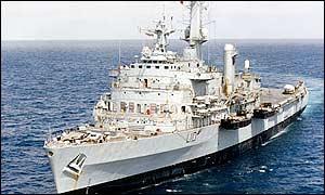 BBC News | UK | HMS Fearless arrives home
