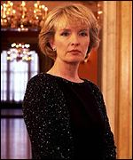 Lindsay Duncan is nominated for best actress for Perfect Strangers