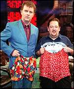 Paul Merton and Johnny Vegas