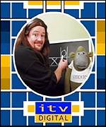 ITV Digital test card