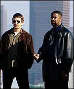 Training Day starring Denzel Washington and Ethan Hawke
