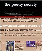 Poetry Society website