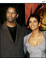 Denzel Washington and Halle Berry