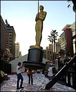 Oscars preparations