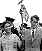 Tenzing Norgay and Sir Edmund Hillary