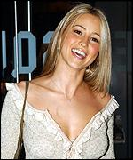 S Club 7's Rachel Stevens was at the première