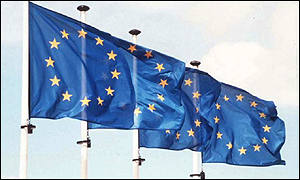 EU flags can now fly  in cyberspace, BBC