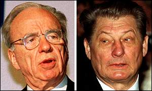 Rupert Murdoch and Leo Kirch