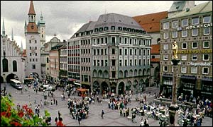 Munich's main square