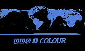 The logo turned to colour in 1969