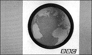 The globe was on BBC One when the channel launched in 1964