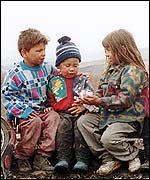 Gypsy children