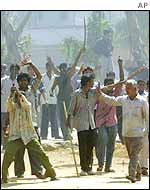 Mob in Gujarat