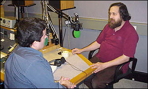 Richard Stallman interviewed by BBC News Online, BBC