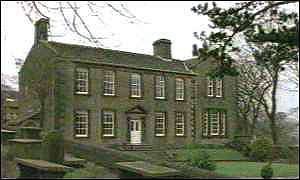 The Brontes' house in Haworth