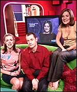 Donna Air, Paul Tonkinson and Amanda Byram started in 2001