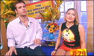 Richard Bacon and Lisa Rogers
