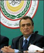 Lebanon's Foreign Minister at the Arab League summit last week