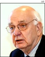 Former Fed chairman Paul Volcker