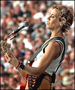 Sheryl Crow used the Rocket Network