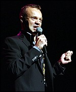 Graham Norton was the warm-up act