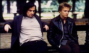 Jean-Pierre Leaud (left) and Jeremie Renier