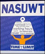 NASUWT cartoon on workload