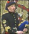 The Queen's Piper, Jim Motherwell plays a Highland lament