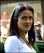 The actress Salma Hayek