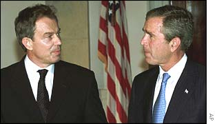 PM Bush and President Blair