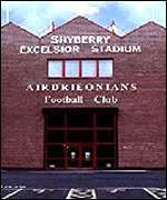 The Excelsior Stadium, Airdrie