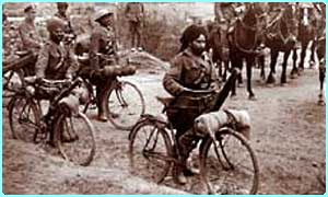 Indian soldiers who fought for Britain