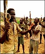 SPLA fighters
