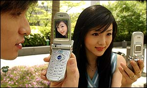 A Samsung camera phone
