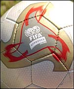 The Adidas Fevernova is the official World Cup ball