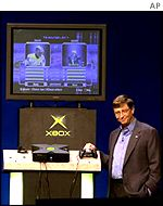 Bill Gates launching the Xbox