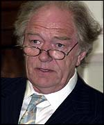 Michael Gambon at the gala