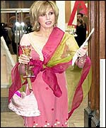 Joanna Lumley was at the gala