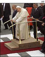 Pope John Paul II at Baku airport