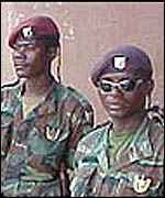 Angolan soldiers