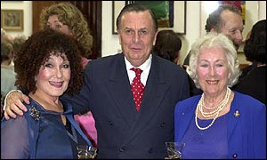 Dame Cleo Laine, Barry Humphries and Dame Vera Lynn