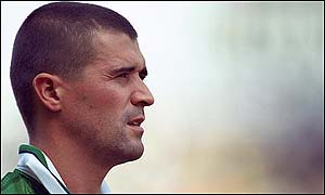 Republic of Ireland midfielder Roy Keane has retired from international football