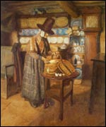 Vosper's 'Market day in old Wales'