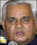 AB Vajpayee speaking in Srinagar