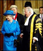 Queen and Speaker Michael Martin