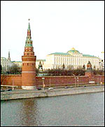 The Kremlin in Moscow