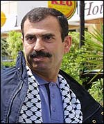 Abdullah Daoud, head of Palestinian security services in Bethlehem, now in exile in Europe