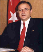 Dr Oktay Vural, minister of transport and communications