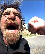 Pic courtesy of Bumfights.com